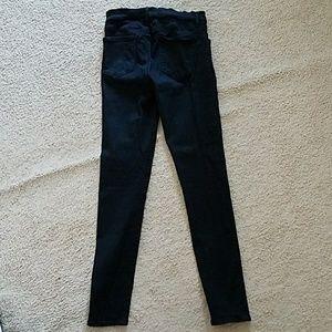 Agolde Jeans - Agolde black super skinny jeans size 28